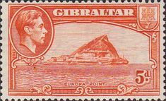 Gibraltar 1938 SG Europa Point Fine Mint SG Scott 112 Condition Fine LMM Only one post charge applied on multiple purchases Details head Akrotiri And Dhekelia, Rock Of Gibraltar, British Overseas Territories, British Indian Ocean Territory, Buy Stamps, Pitcairn Islands, King George, Commonwealth, The Rock