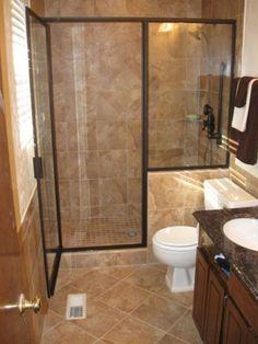 23 Small Full Bathroom Remodel Ideas For Best Bathroom Inspiration Inexpensive Bathroom Vanity, Cheap Bathroom Remodel, Diy Bathroom Vanity, Cheap Bathrooms, Shower Remodel, Bathroom Layout, Amazing Bathrooms, Small Bathrooms, Bathroom Ideas