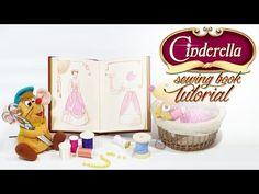 Disney DIY - Cinderella's sewing book tutorial - YouTube