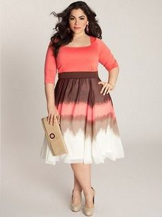 Blythe Plus Size Dress Curvy fashion | Big Fashion Show plus size dresses