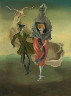 Leonora Carrington: Pesonajes de Teatro (Theatre People), 1941