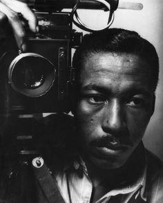 1945 self-portrait    Photo by Gordon Parks