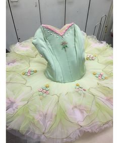 """New York City Ballet principal dancer Sterling Hyltin shares a day in her life. """"This is the green tutu that I put on for the pas de deux for my second entrance. I hardly feel so beautiful as in that tutu,"""" she says."""