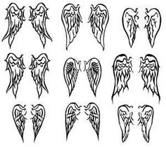 Angel wings// how to draw angel wings