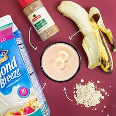 Secret smoothie ingredient alert! For a more satisfying option add OATS! #Vocalpoint