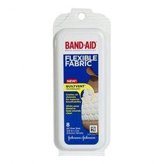 Johnson & Johnson Flexible Fabric Band-Aids, Pack of 8