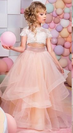 Two Pieces Lace Applique Laudable Beautiful Tulle Jewel