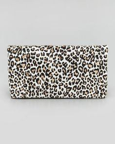 Cheetah Me Calf Hair Fold-Over Clutch Bag, Fawn by Alice + Olivia at Bergdorf Goodman.