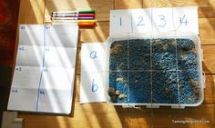 Taming the Goblin: After school archeology - math and sensory play rolled into one