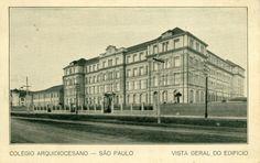 Vista Geral do Edifício e de trecho da inimaginável rua  Domingos de Moraes.