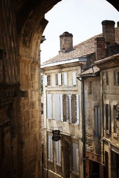 thebespokecut: Travel. Favorite places. The little town of St. Emilion, France