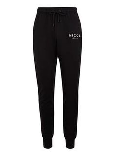 NICCE Black Joggers