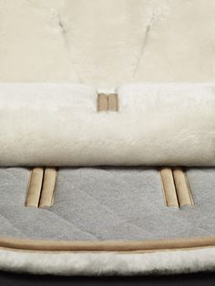 Still life of the Bugaboo Wool Seat Liner by photography duo Scheltens & Abbenes