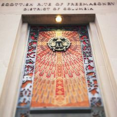 Scottish Rite of Freemasonry deceptive doorway design