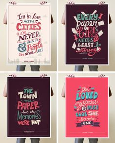 Paper Towns Poster Quotes (Graphic Design, Illustration, Typography) by Risa Rodil, via Behance