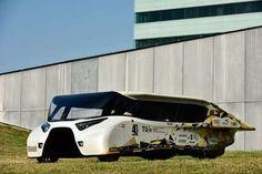 Dutch team reveals 'energy-positive' family car