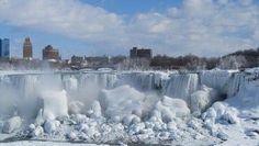 FOTO: Cataratas del Niágara quedan totalmente congeladas