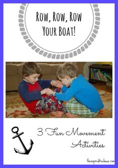 Set sail with these fun and easy sensory activities that emphasize core strength and calming vestibular input!