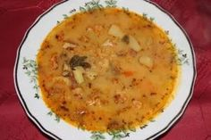 Cheeseburger Chowder, Soup, Turmeric, Red Peppers, Soups