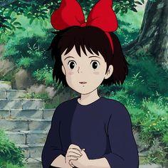 Kiki | Kiki's Delivery Service | Miyazaki | Studio Ghibli | (gif)