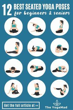 Seated Yoga Poses, Easy Yoga Poses, Beginner Yoga Poses, Yoga Sequence For Beginners, Yoga Beginners, Yoga For Seniors, Boat Pose, Gentle Yoga, Body Transformations