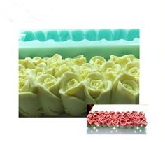 promo wholesale beautiful rose flowers and swan design silicone toast soap mold molds silica gel soap #wholesale #roses