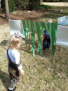 We're Going On a Bear Hunt! - take the children outside of the classroom and around the school grounds on a Bear Hunt!