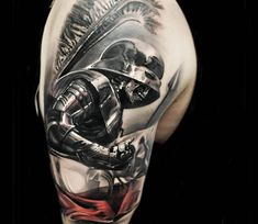 Dead warrior tattoo by Jakub Hanus