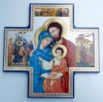 Wall Plaques using Special Gold Foil Techniques and Wall Plaque depicting the Apparitions, Holy Family, the blessed Virgin Mary with Hold Child along with many more. Blessed Mother Mary, Blessed Virgin Mary, Crucifixion Of Jesus, Prayer For Family, Our Lady Of Lourdes, Queen Of Heaven, Christian Religions, The Cross Of Christ, Maltese Cross
