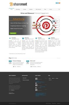 ShareRoot is the only all-encompassing solution that executes Pinterest-targeted advertising campaigns, plans and manages Pinterest contests, and provides its clients with an in-depth Pinterest analytics dashboard. http://shareroot.co/