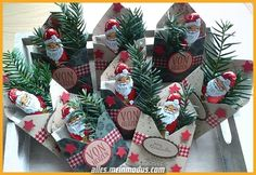 weihnachten mitbringsel Small Christmas Goodies with instructions quickly knelt. Christmas Goodies, Christmas Treats, Christmas Presents, Christmas Time, Christmas Cards, Holiday, Small Christmas Gifts, Wallpaper World, Diy Y Manualidades