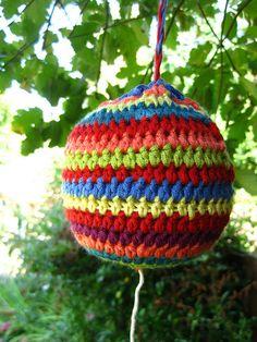 crochet yarn holder