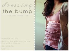 Dressing the Bump - cute outfit ideas