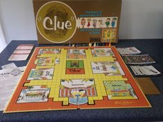 Vintage PARKER BROTHERS  Clue game 1963 Complete instructions detective murder mystery by AltmodischVintage on Etsy