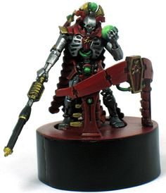 Necron Lord with Custom Display Base