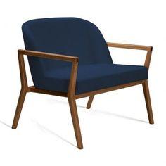 Poltrona Mariana 60Cm Linho Azul Marinho Outdoor Chairs, Outdoor Furniture, Outdoor Decor, Living Room Decor, Accent Chairs, Armchair, Sweet Home, House, Inspiration