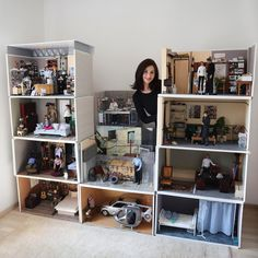 """Kathy's dolls & dioramas on Instagram: """"This is me with my own X Files Set Up as it looks now. I am using a wall in my hobby room. It grows. You see finished and unfinished…"""" Hobby Room, Art Model, Diorama, Desk, Dolls, Furniture, Home Decor, Baby Dolls, Desktop"""