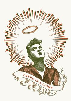 """RS179 - """"Morrissey"""" Icon card by Ben Lamb Illustration & Design"""