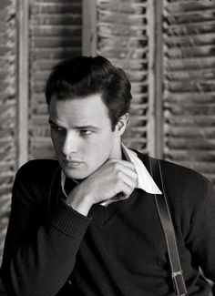 Marlon Brando, 1948. Fotografía por Serge Balkin.