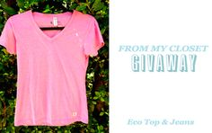 #giveaway today! #jbrand jeans & #earthspunapparel tee