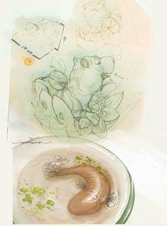 "Art name "" Strange fish ? """