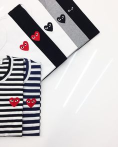 """tumblinginn: """"We are now stocking WOMENS CDG PLAY *in store only*! The same classic designs as the men's tees, but a much better cut for curves! @mkiforwomen WWW.MKISTORE.COM #MKISTORE #MKIFORWOMEN #CDGPLAY """""""