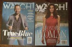 2 Watch magazine True Blue Wonder Woman on Mercari Donnie Wahlberg, Wonder Woman, Magazine, Watch, Celebrities, Sexy, Blue, Women, Clock