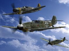 World War II German Fighter Flight
