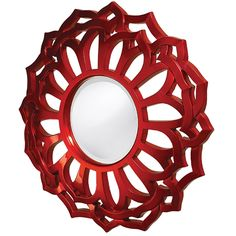 Howard Elliott 2196 Casey Mirror, Metallic Red ** Read more reviews of the product by visiting the link on the image. (This is an affiliate link) #Mirrors