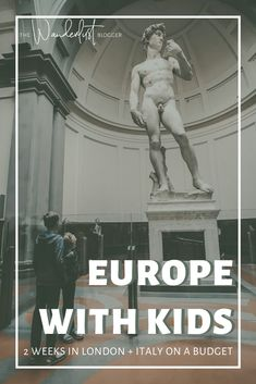 10 cities, 16 days, 2 countries, ALL amazing family travel experiences. Learn how we planned a two week trip to London, England and all over Italy with two kids and stayed on budget while enjoying tours, activities, and seeing world class sites. This was our kid's first time in Europe. 10 cities in England and Italy. #travelwithkids #europeitinerary #europewithkids The Wanderlust Blogger