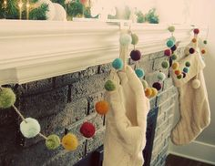 how to make a felt garland