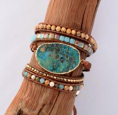 Pretty Naturel Bleu Jade Gemme Argent sterling Fortune Lucky Link Bracelet
