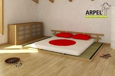 Haru Einzel-Schlafpodest mit Tatami