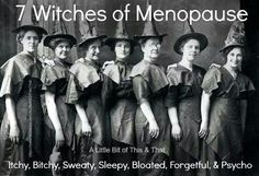 7 witches of menopause